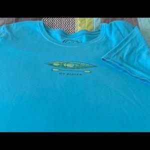 Women's Life Is Good T-Shirt